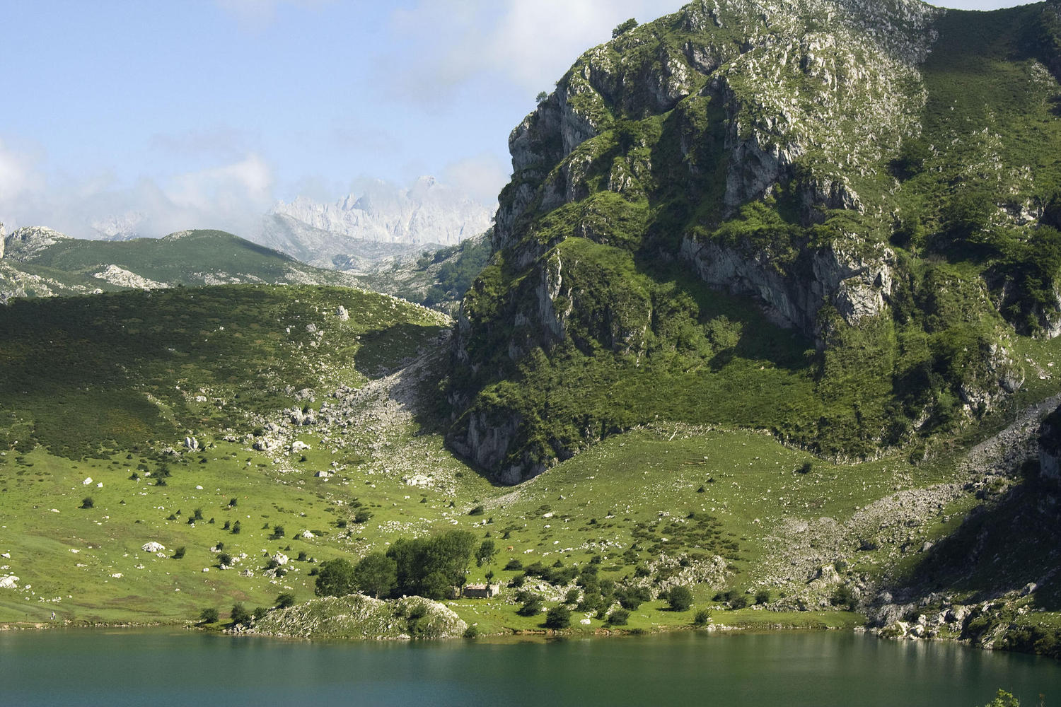 The high lakes of Covadonga.
