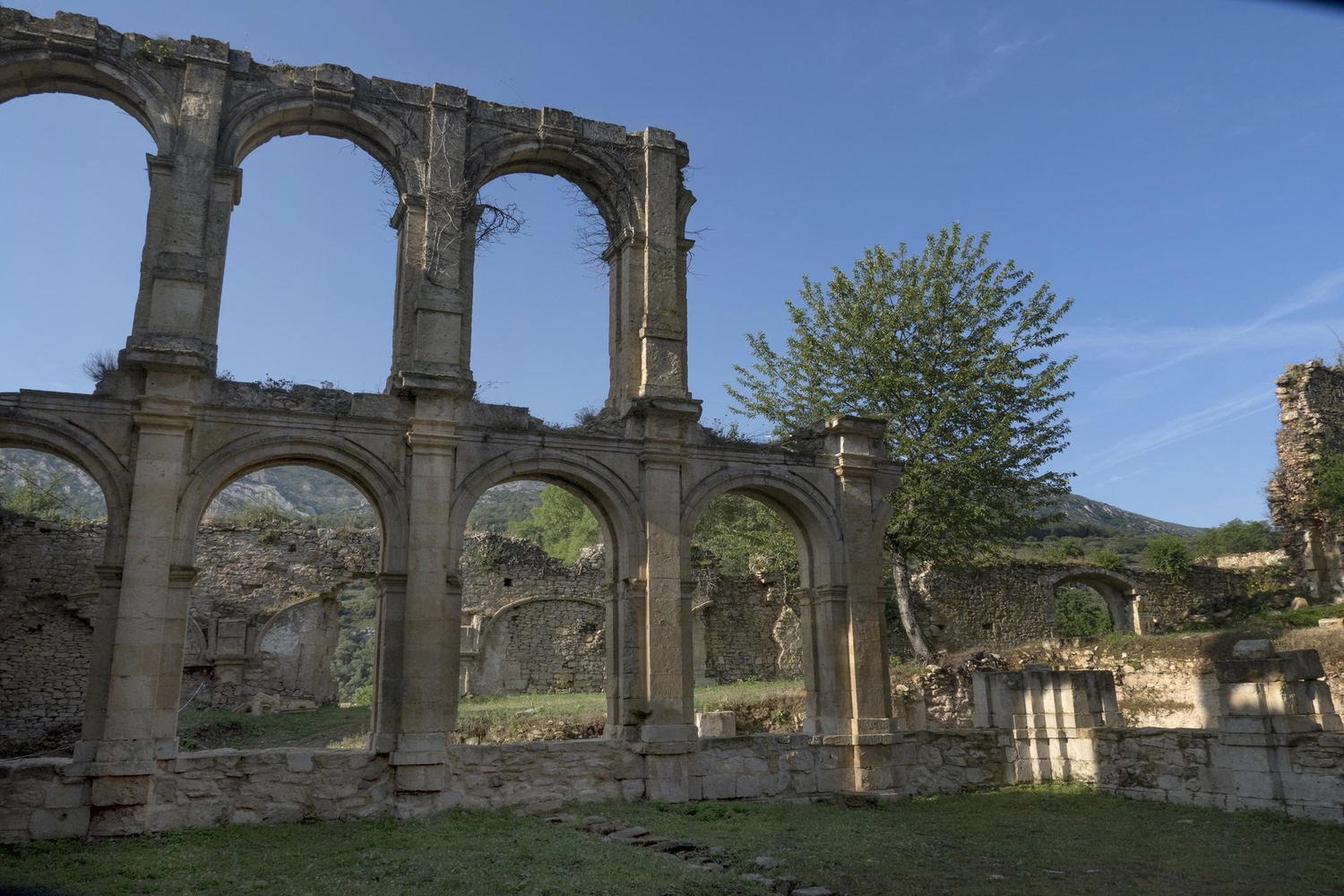 Ruins of the Rio Seco Monastery