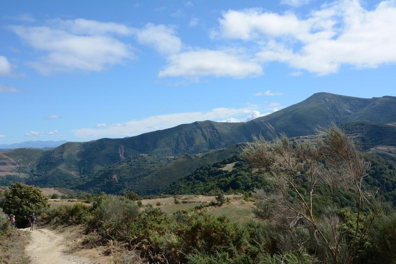 The Camino de Santiago arriving in Galicia