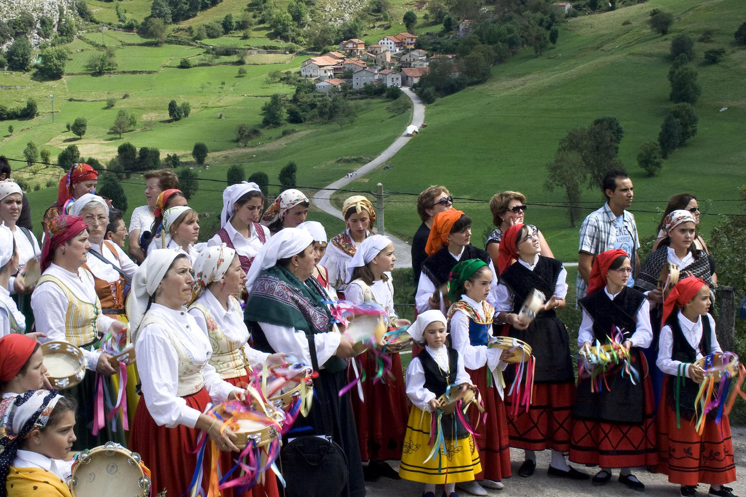 Traditional festivity in Bejes