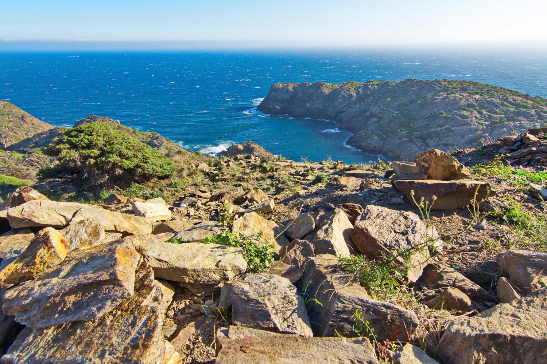 Cap de Creus dry and rocky landscape