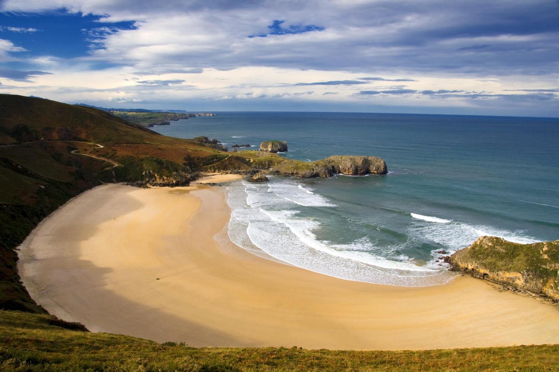 Torimbio beach near Llanes, Asturias