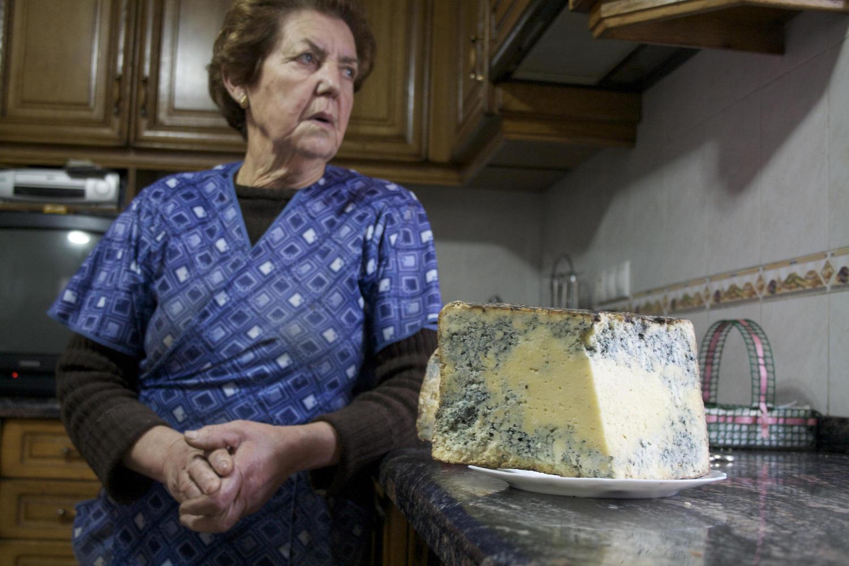 Waiting for the shepherd to return before sampling the Gamoneu cheese