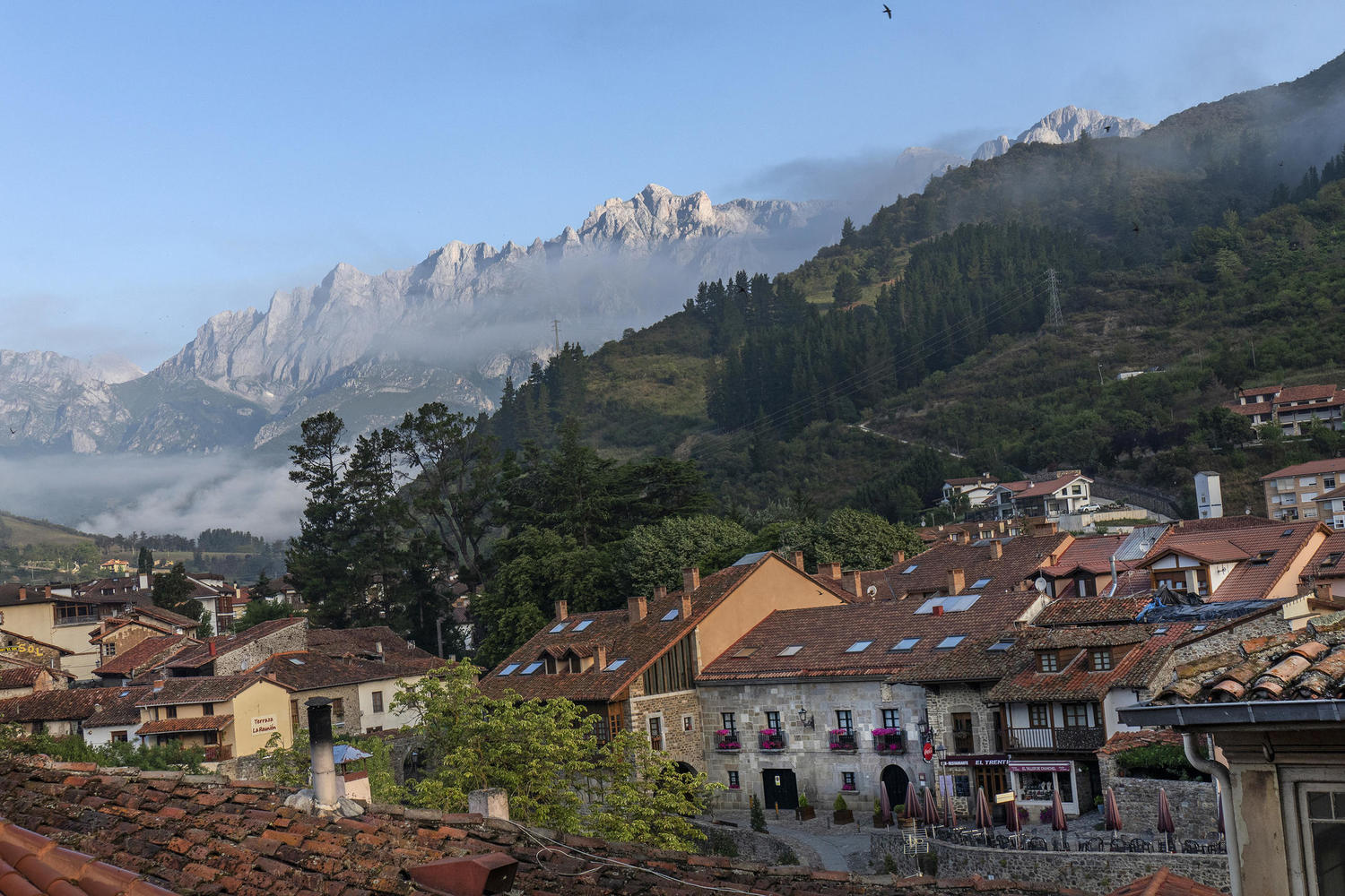 Potes in morning light.