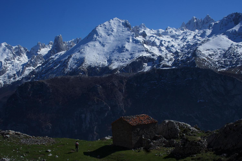 High in the central Picos de Europa massif