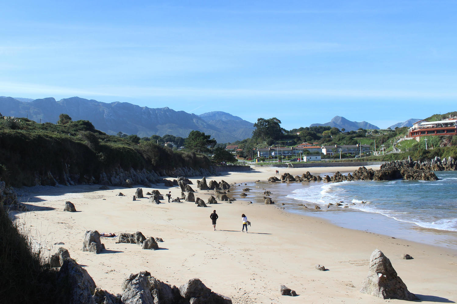 Toro beach on Asturias coast