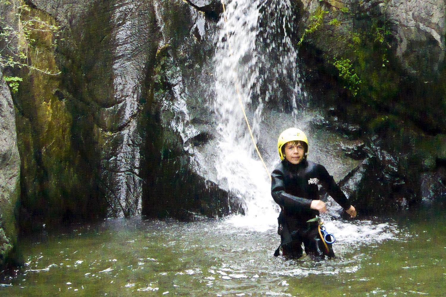 Canyoning is great fun  for all the family!