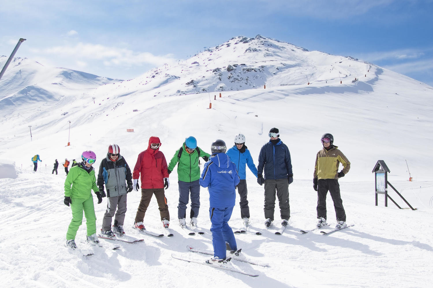 A private ski instructor for your group of family or friends