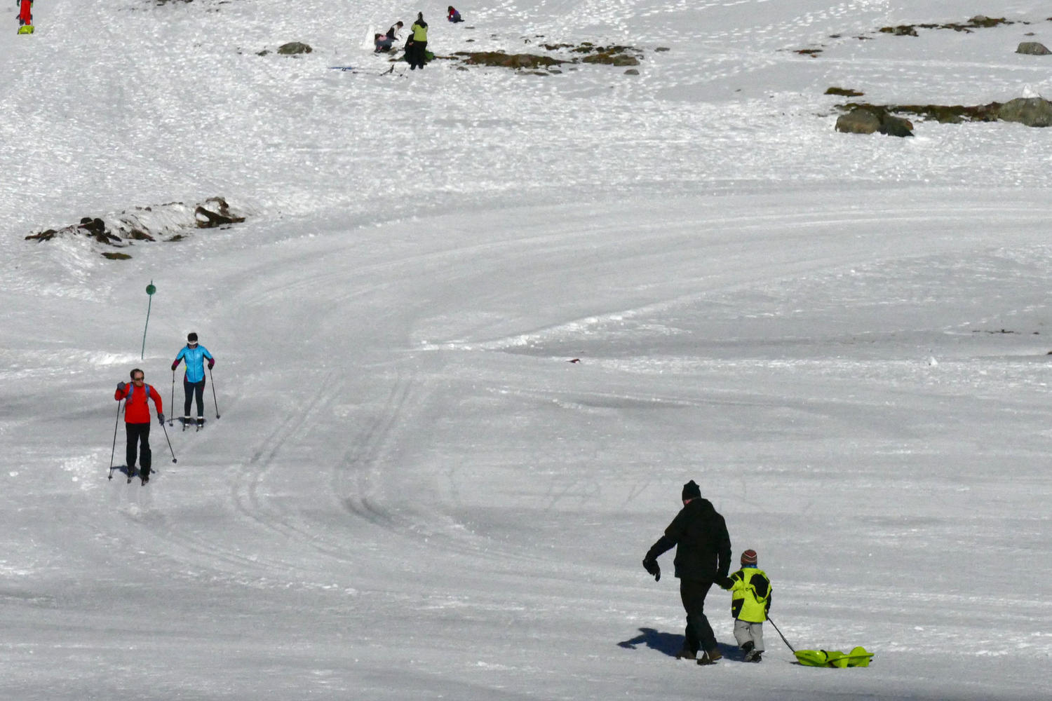 Llanos del Hospital is great for a range of other snow-based activities