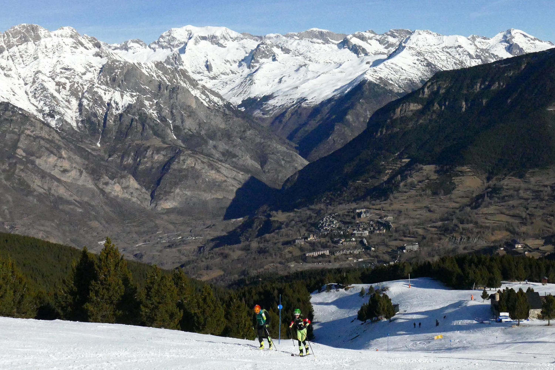 Nordic skiing at Cerler