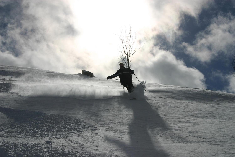 Open slopes of Cerler