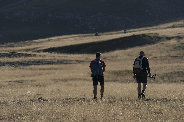 Walking in the Ordesa National Park