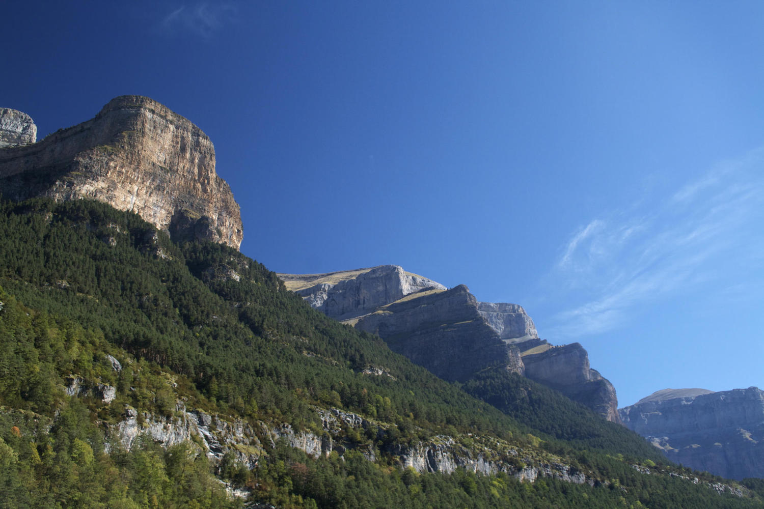 The Ordesa National Park in the Spanish Pyrenees
