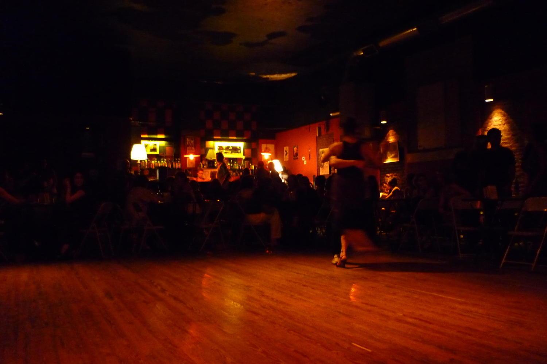 Tango classes, Buenos Aires