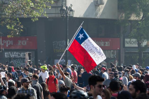 Protestas en chile 20191022 06