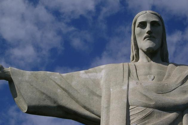 Brazil rio de janeiro christ the redeemer statue