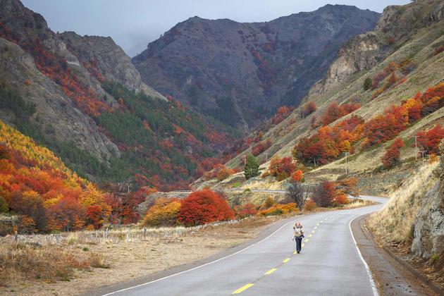 Chile carretera austral coyhaique aisen region south road carretera austral patagonia chile