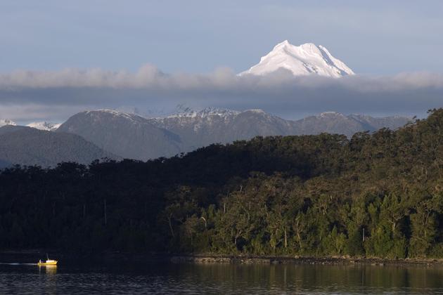 Chile northern patagonia skorpios cruise mount maca