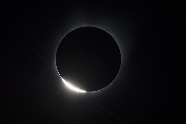 Chile total solar eclipse diamond ring c nasa