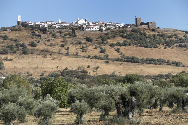 Portugal alentejo monsaraz hike view