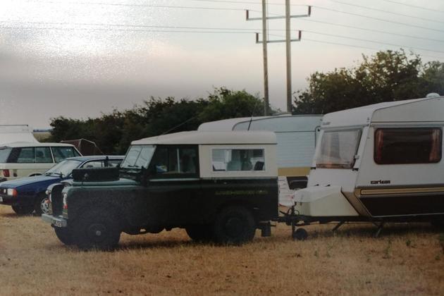 Pothole caravan chris