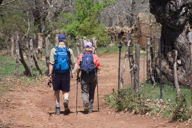 Spain andalucia aracena alajar walkers hike