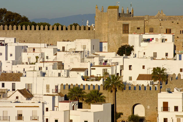 Spain andalucia cadiz vejer sunset