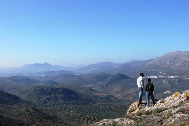 Spain andalucia casa olea sierra subbetica landscape view