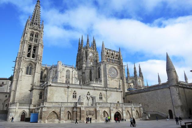 Spain camino de santiago burgos cathedral c dmartin
