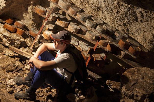 Spain picos ruben remis cave cheese