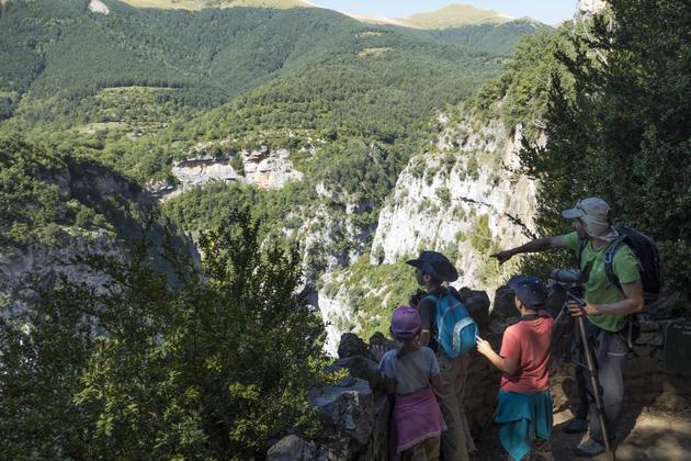 Spain pyrennes ordesa family holidays alberto escuain