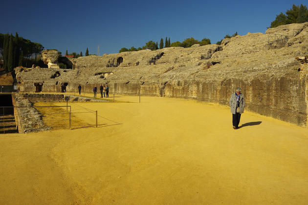 Spain andalucia italica ruins copyright chris bladon pura1