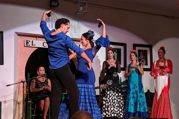 Spain cordoba flamenco el cardenal c pura aventura2