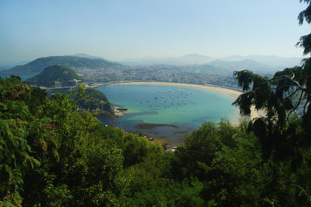 Spain san sebastian basque c chris bladon
