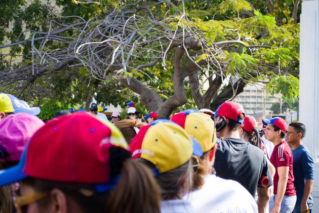 Venezuela protest cc wikimedia commons