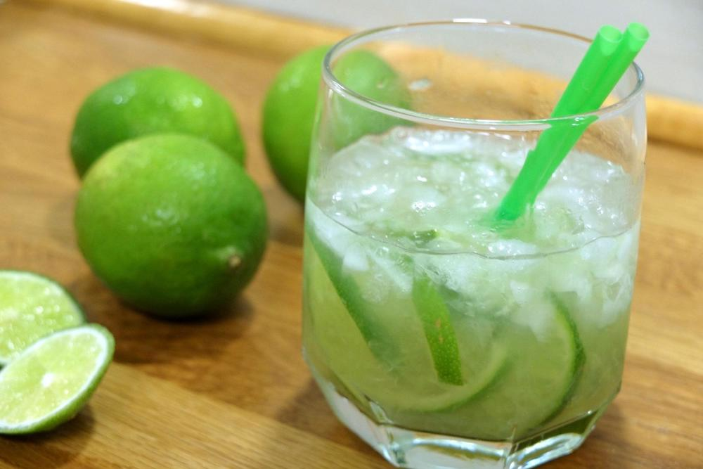 Brazil caipirinha cocktail