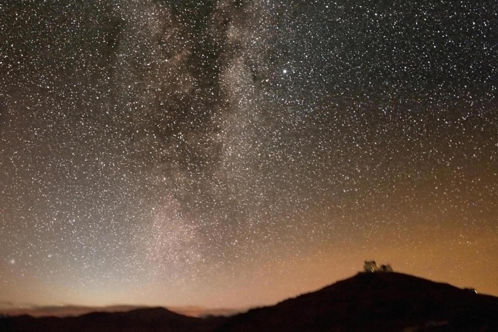 Chile night sky c astrofireball