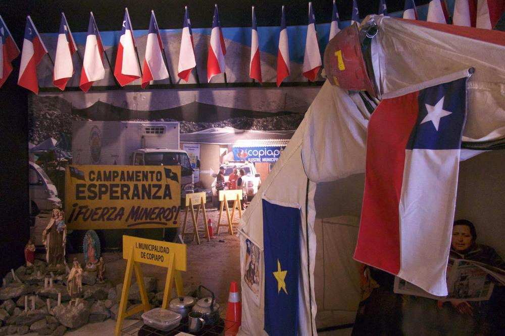 Chile winelands santa cruz museo colchagua 33 chilean flags camp esperanza20180829 76980 1rvaagg
