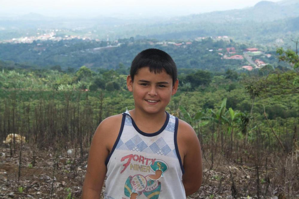 Costa rica central valley young boy in coffee plantation20180829 76980 10xw3ua