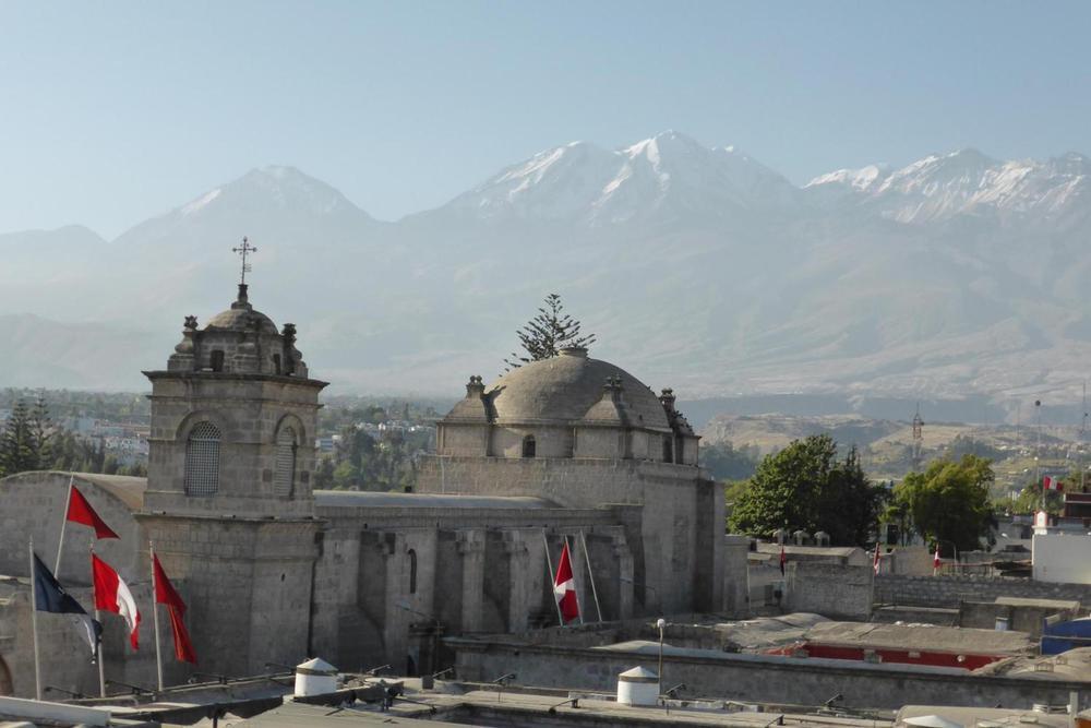 Peru arequipa view of misti volcano from santa catalina convent20180829 76980 rin13s