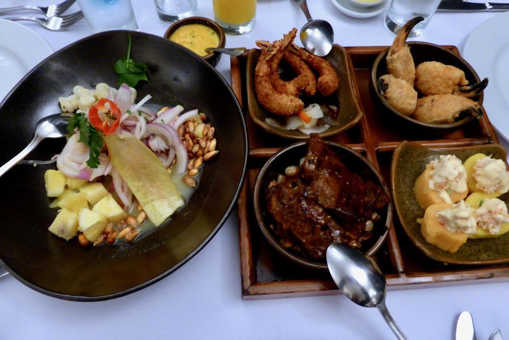 Peru lima delightful dinner at huaca pucllana
