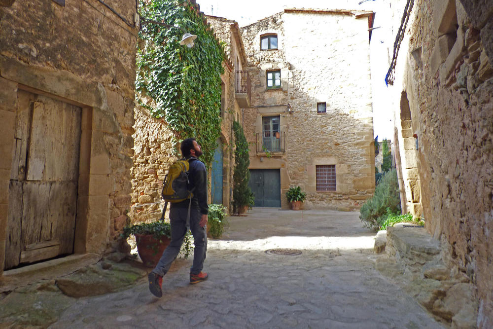 Spain catalonia girona empurda walking  madremanya