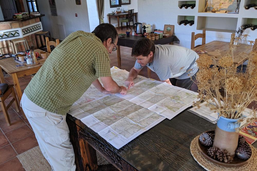 Spain andalucia maps casa olea c pura aventura