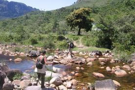 Brazil bahia chapada diamantina crossing a river20180829 76980 10ehzkp