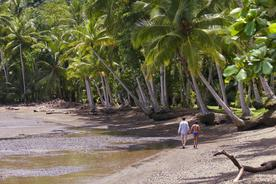 Costa rica playa cativo romantic walk on beach 220180829 76980 1n10ig7
