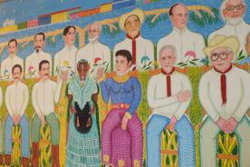 Mexico tlacotalpan mural