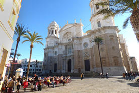 Spain andalucia cadiz city cathedral