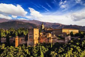 Spain andalucia granada alhambra panoramic shot20180829 76980 xgp506