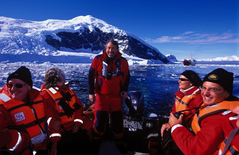 Handling zodiacs in Antarctica may look easy but it ain?t!