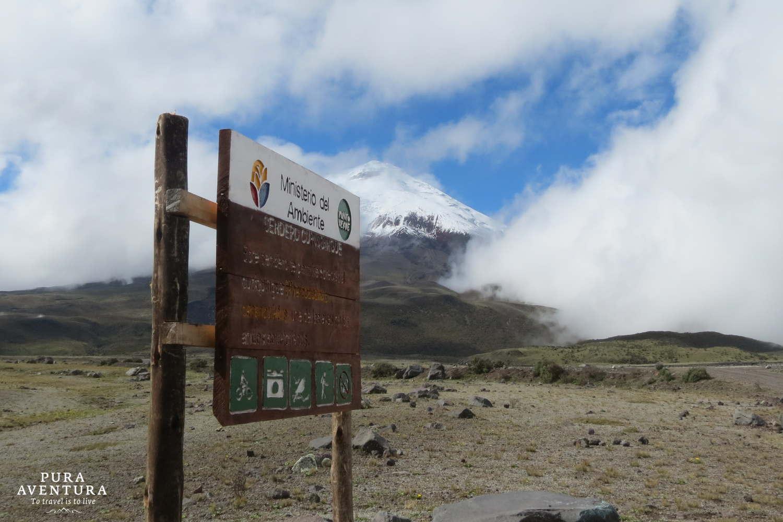 Cotopaxi sign